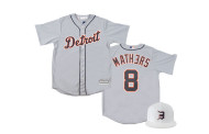 Camiseta de baseball do Eminem X Detroit Tigers