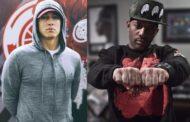 """Eminem faz homenagem ao Prodigy cantando trecho de """"Survival Of The Fittest"""""""