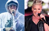 """Eminem e Pink se reunem para uma parceria """"inacreditável"""""""