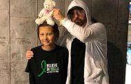 Fã do Eminem realiza sonho em conhecê-lo antes de falecer