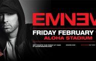 Eminem anuncia show em Honolulu no dia 15 de fevereiro