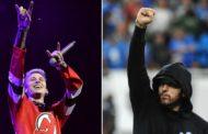 """MGK responde ao diss """"Killshot"""" do Eminem e anuncia data de lançamento de seu EP """"Binge"""""""
