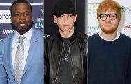 50 Cent revela que gravou música com o Eminem & Ed Sheeran